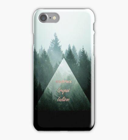 Arbores Loqui Latine iPhone Case/Skin