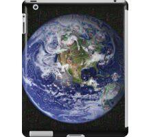 Deep Dream Earth Americas iPad Case/Skin