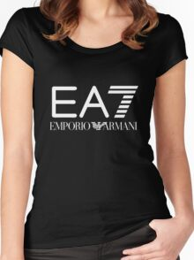 Emporio Armani T shirt Women's Fitted Scoop T-Shirt