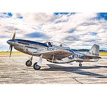 P-51 Mustang Photographic Print