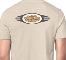 Norfolk Vintage Surfboard Collection logo. Unisex T-Shirt