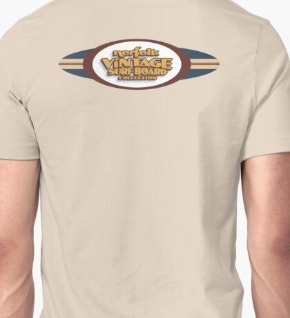 Norfolk Vintage Surfboard Collection logo. Unisex T-Shirt
