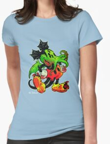 MICKTHULHU MOUSE I Womens Fitted T-Shirt