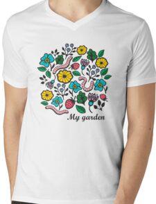 Worms Mens V-Neck T-Shirt