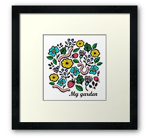 Worms Framed Print