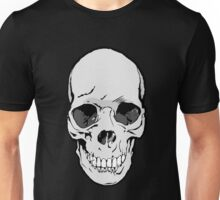 Human Skull Drawing Unisex T-Shirt