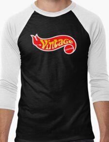 Custom Vintage Men's Baseball ¾ T-Shirt