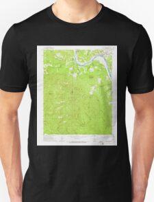 USGS TOPO Map Arkansas AR Calico Rock 258109 1964 24000 Unisex T-Shirt