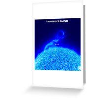 Third Eye Blind - Blue Greeting Card