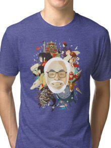 Miyazaki-san Tri-blend T-Shirt