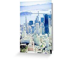 Urban Dimensions SF Greeting Card