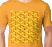 Goyard Perfect case yellow Unisex T-Shirt