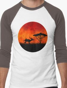 late afternoon Men's Baseball ¾ T-Shirt