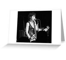 Joan Jett~Rocker Greeting Card