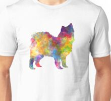 Swedish Lapphund in watercolor Unisex T-Shirt
