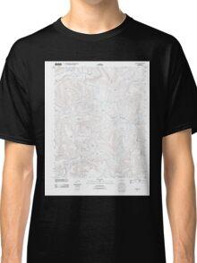 USGS TOPO Map Arkansas AR Canaan 20110721 TM Classic T-Shirt