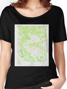USGS TOPO Map Arkansas AR Hattieville 258694 1962 24000 Women's Relaxed Fit T-Shirt