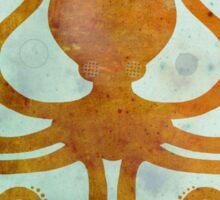 Slinky Octopus Sticker
