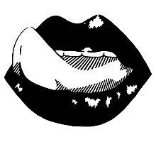 Lick it up  Photographic Print
