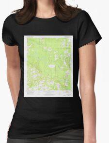 USGS TOPO Map Arkansas AR Doddridge NW 258348 1952 24000 Womens Fitted T-Shirt