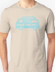 Good Vibes Only Camper Van Unisex T-Shirt