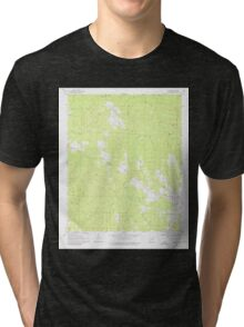 USGS TOPO Map Arkansas AR Delight 258331 1970 24000 Tri-blend T-Shirt