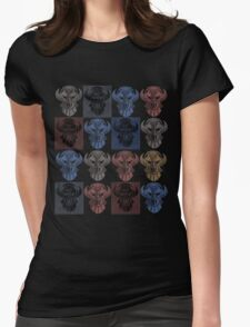 monster head Womens Fitted T-Shirt