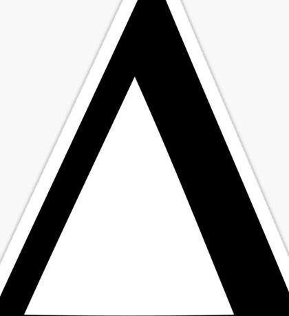Greek Letter - Delta Sticker