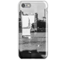 Reflections of Liberty, New York City iPhone Case/Skin