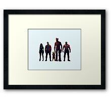 A Thief, Two Thugs, An Assassin, and a Maniac Framed Print