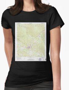 USGS TOPO Map Arkansas AR Stephens 259683 1969 24000 Womens Fitted T-Shirt