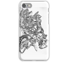 Wrecked Motorcycle with Barnacles and Rust- Phone Case iPhone Case/Skin
