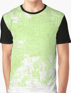 USGS TOPO Map Arkansas AR Center Point 258164 1970 24000 Graphic T-Shirt