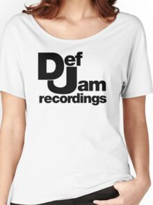 funny tshirt def jam Women's Relaxed Fit T-Shirt