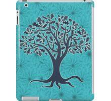Mandala yoga tree of life blue one iPad Case/Skin