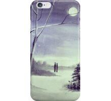 Moonlit Conversations iPhone Case/Skin