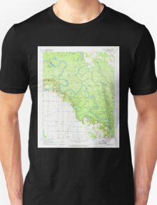 USGS TOPO Map Arkansas AR Crocketts Bluff 258272 1967 24000 Unisex T-Shirt