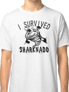 I Survived sharknado Classic T-Shirt