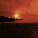 THE SUNSET IN THE MIST by leonie7