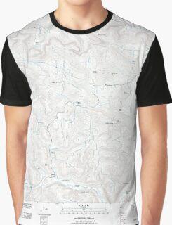 USGS TOPO Map Arkansas AR Mountain View SW 20110721 TM Graphic T-Shirt