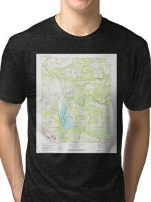 USGS TOPO Map Arkansas AR Knoxville 258876 1993 24000 Tri-blend T-Shirt