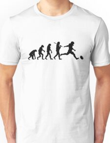 Football Human Evolution Unisex T-Shirt
