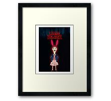 Stranger Things at Bob's Burgers Framed Print