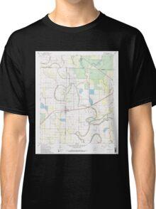 USGS TOPO Map Arkansas AR Humphrey 258787 1967 24000 Classic T-Shirt