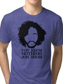 snow you know Tri-blend T-Shirt