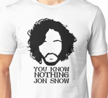 snow you know Unisex T-Shirt