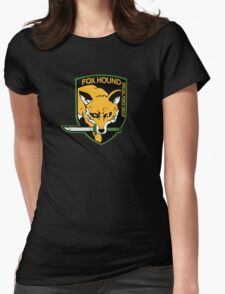 Special fox Womens Fitted T-Shirt