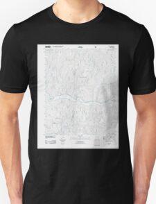 USGS TOPO Map Arkansas AR Yale 20110729 TM Unisex T-Shirt