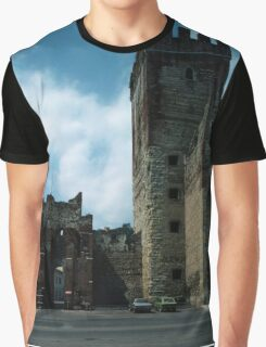 Gate in wall Marostica Veneto Italy 19840729 0036 Graphic T-Shirt