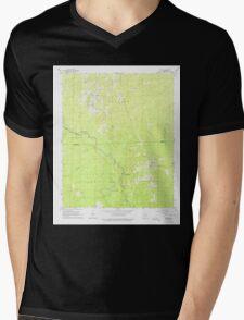USGS TOPO Map Arkansas AR Staves 259678 1964 24000 Mens V-Neck T-Shirt
